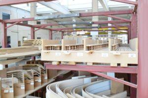 склад заготовок, погонажа и готовой продукции